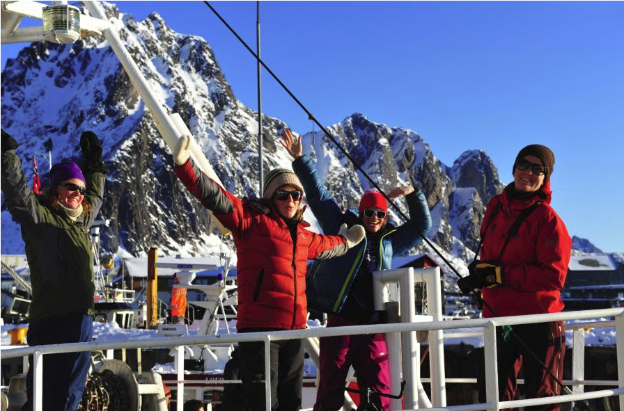 Deltagere på VM i Skreifiske