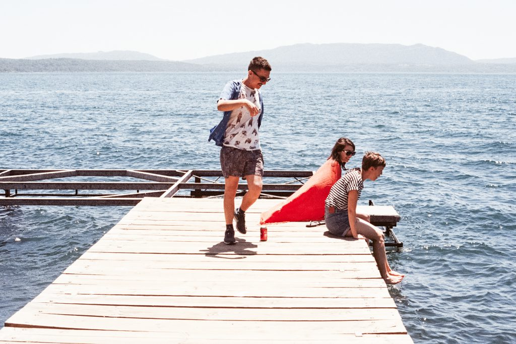 Ungdom på sommerleir