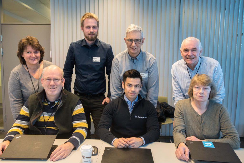 Representanter fra Difi, DFØ og Deltager.no